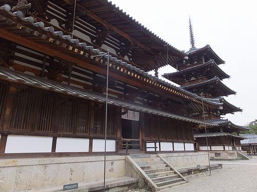 20180219奈良県斑鳩町法隆寺19