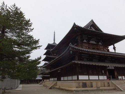 20180219奈良県斑鳩町法隆寺20