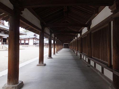 20180219奈良県斑鳩町法隆寺23