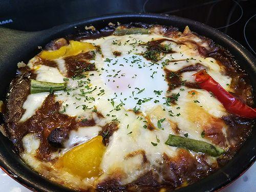 20180601草津温泉カフェ花栞(はなしおり)特製焼きカレー2