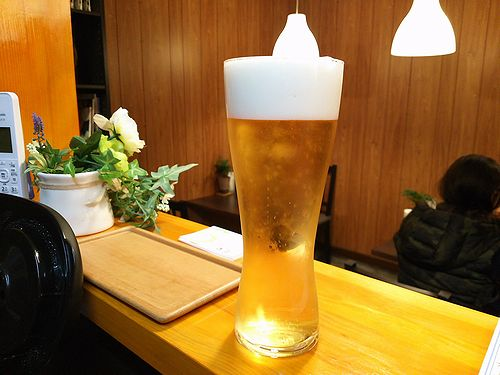 草津温泉カフェ花栞(はなしおり)ビール