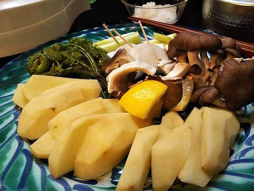 20180604草津温泉岩魚料理、夏草窟(かそうくつ) 5