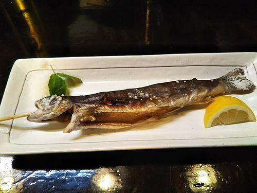 20180604草津温泉岩魚料理、夏草窟(かそうくつ) 7