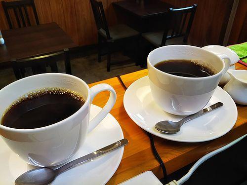 20180618草津温泉カフェ花栞(はなしおり)ホットコーヒー