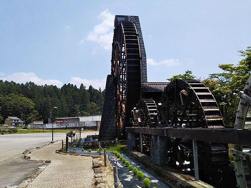 20180625岐阜県荘川町五連水車 (4)