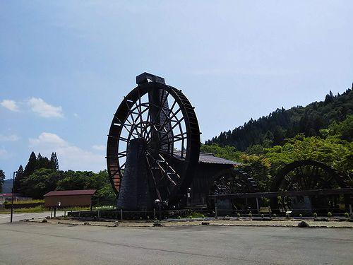 20180625岐阜県荘川町五連水車 (6)