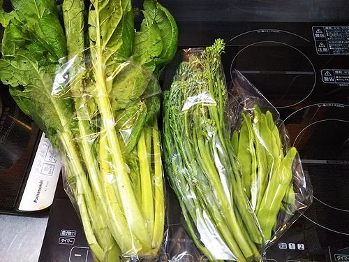 20180703草津温泉カフェ花栞(はなしおり)1周年記念でひなた屋味噌らーめんさんが持ってきてくれた野菜