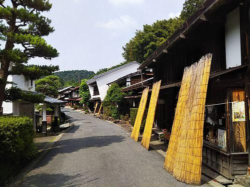 20180626長野県南木曽町、妻籠宿 (2)