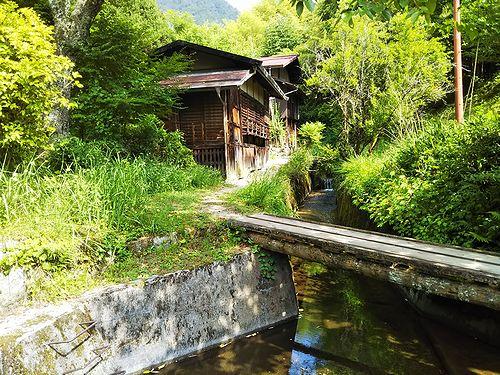 20180626長野県南木曽町、妻籠宿 (7)