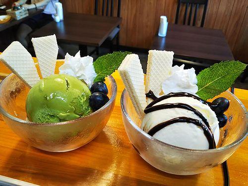 20180714草津温泉カフェ花栞(はなしおり)アイスクリーム