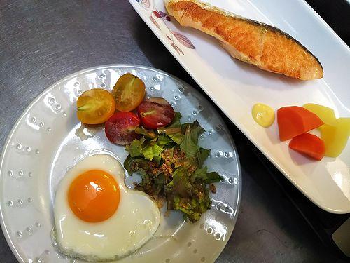 20180722草津温泉民泊花栞(はなしおり)今朝の宿泊のお客様の朝食