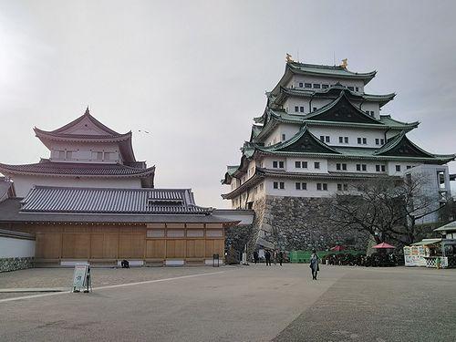 20180222愛知県名古屋市、名古屋城 (4)