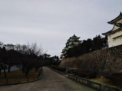 20180222愛知県名古屋市、名古屋城 (8)