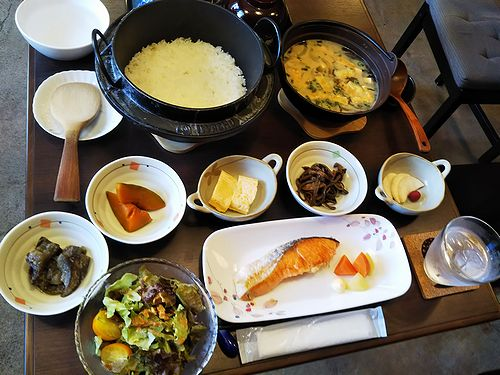 20180730宿泊のお客様の朝食