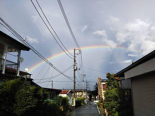 20180825草津温泉カフェ花栞(はなしおり)虹 (1)