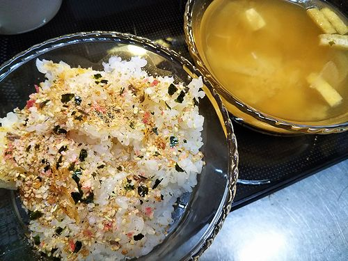 20180904草津温泉カフェ花栞(はなしおり)お客様から頂いたおとなのふりかけ (2)