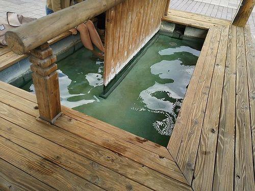 20171129草津温泉地蔵の湯まえ足湯1