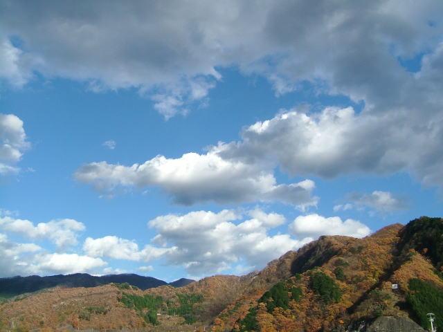 2008.11.群馬県みどり市、草木湖の紅葉