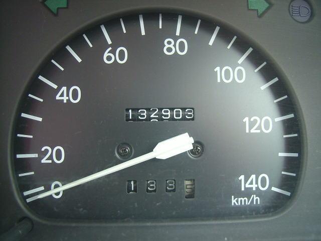 2008.10.ダイハツ・ミラ、走行距離132,903km