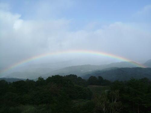 2006.10.群馬県長野原町、虹