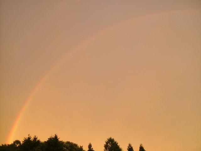 2008.7.長野県軽井沢町、虹