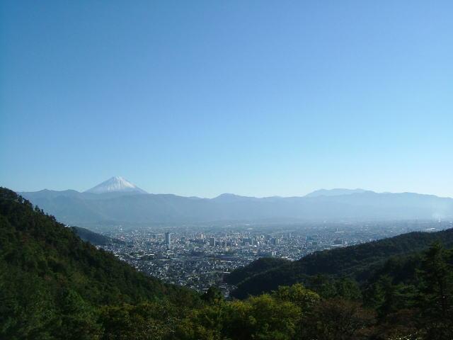2006.11.山梨県甲府市、富士山
