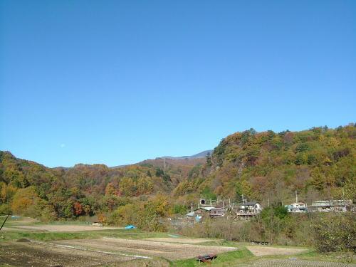 2006.11.群馬県長野原町、紅葉