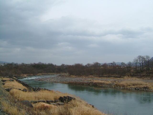 2009.2.長野県東御市、千曲川