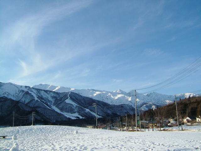 2009.1.長野県白馬村、雪景色