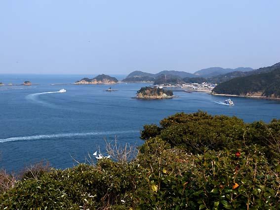 イルカ島展望台からの眺め