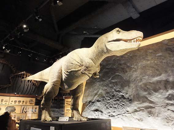 ティラノサウルスのロボット(富山市科学博物館)