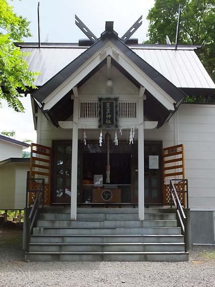 星置神社社殿