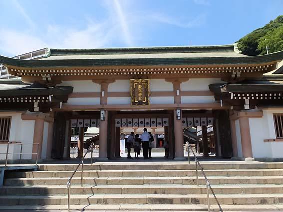照國神社の神門