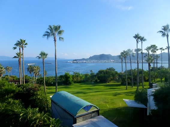 指宿フェニックスホテルからの眺め