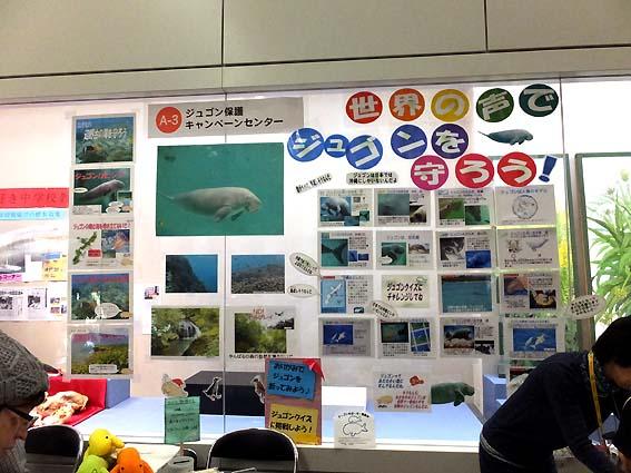 ジュゴン保護キャンペーンセンターブース