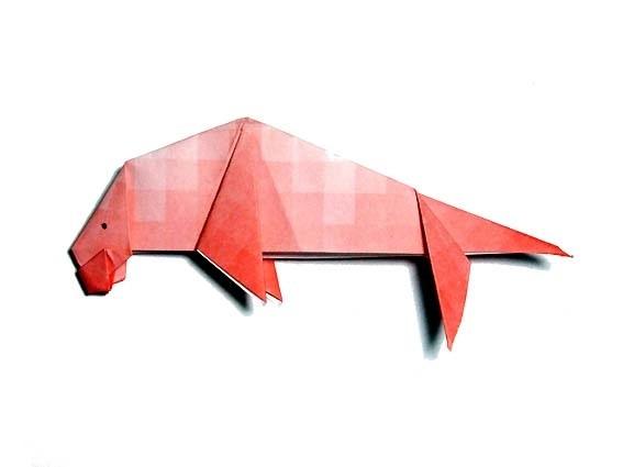 折り紙ジュゴン
