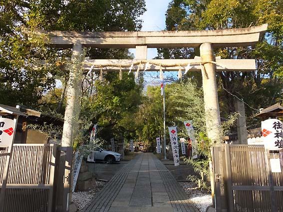 刺田比古神社鳥居