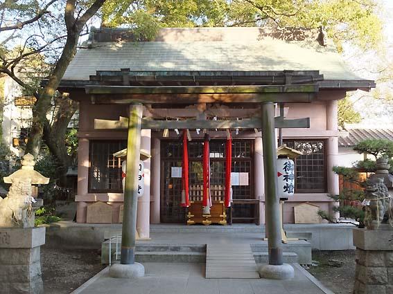 刺田比古神社拝殿