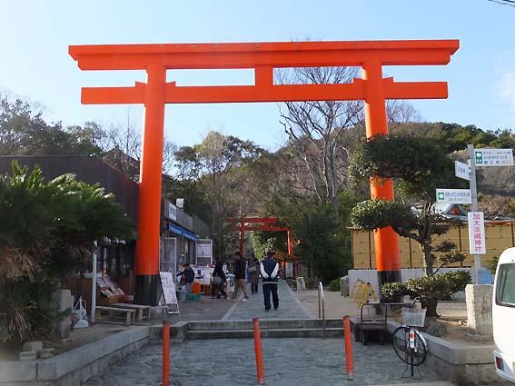 淡嶋神社鳥居