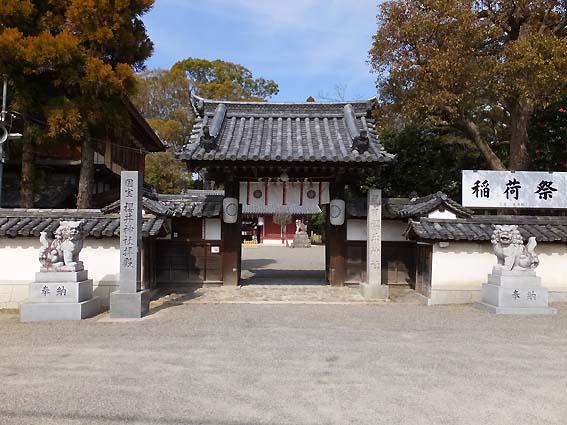 櫻井神社入り口の神門