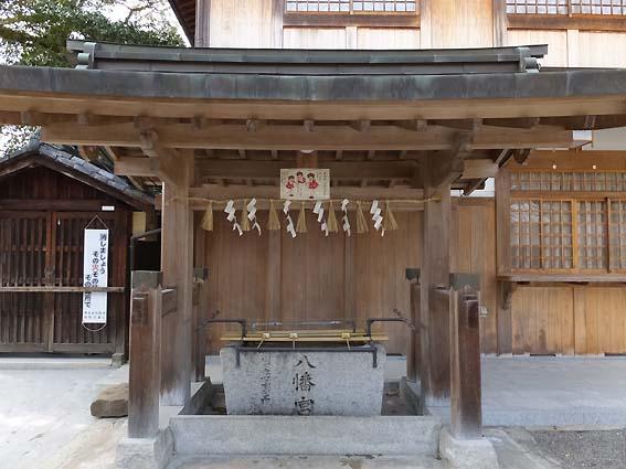 櫻井神社手水舎
