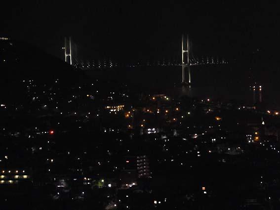 長崎女神大橋を遠望