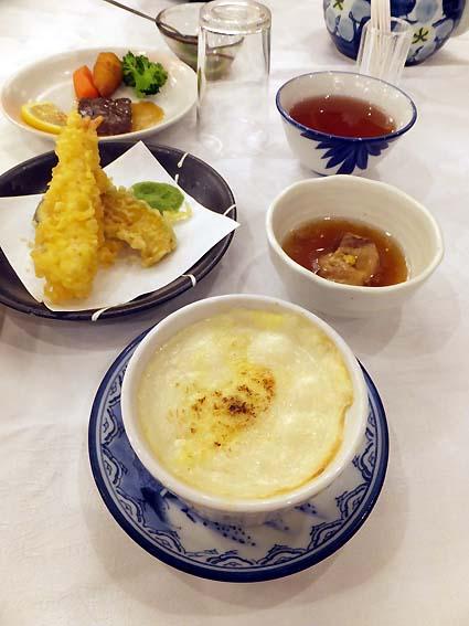 矢太樓の夕食(一部)