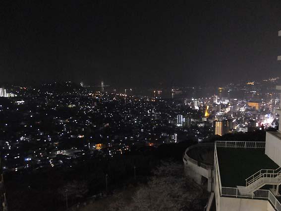 矢太樓からの長崎夜景
