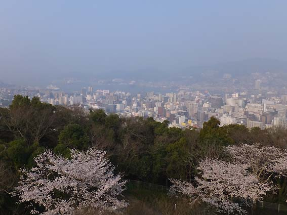 風頭公園からの眺望