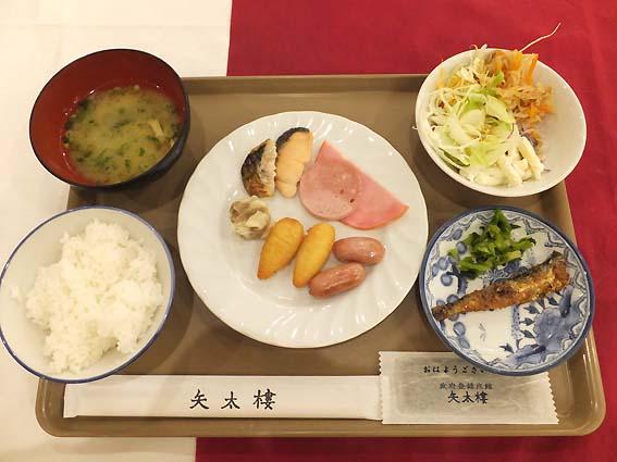 矢太樓の朝食