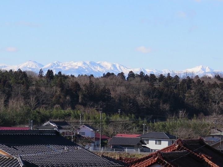 1月11日の那須連山