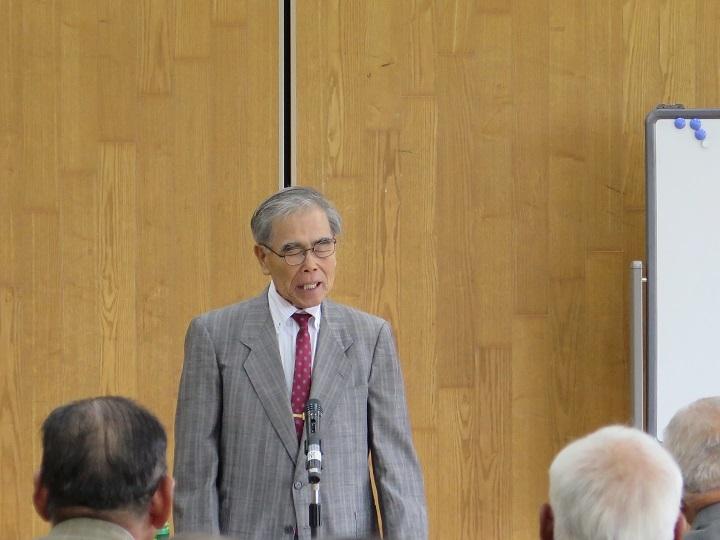 講演する吉川先生
