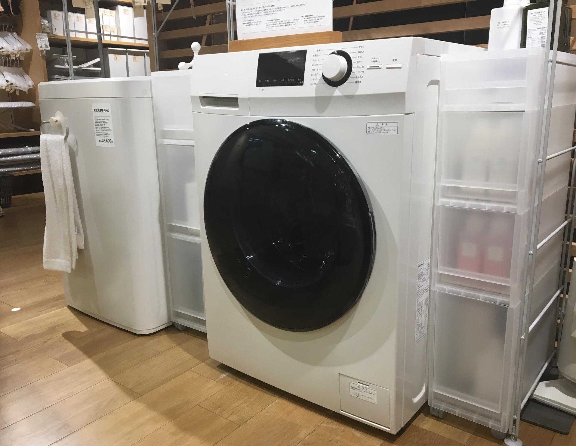 続・洗濯機はどこに置くのでしょうか?