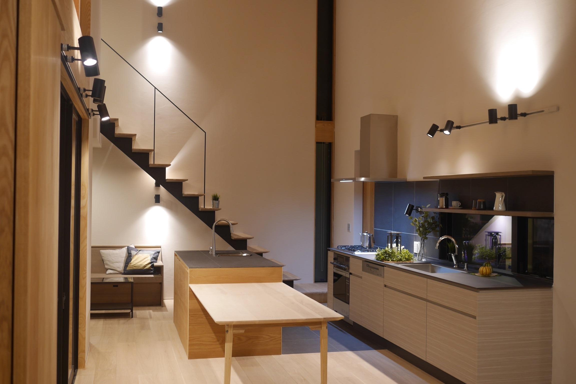 キッチン オープンハウス前夜